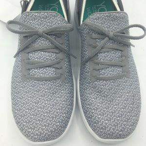 Skechers Ladies Knit Slip On Shoe